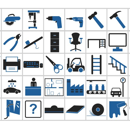 Icon-Set Software for Occupational Health and Safety
