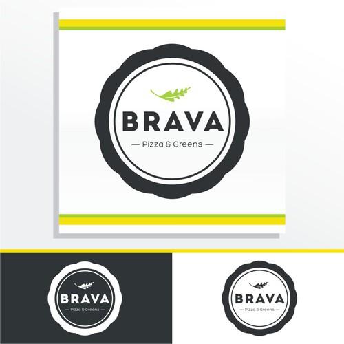 logo for Brava Pizza & Greens