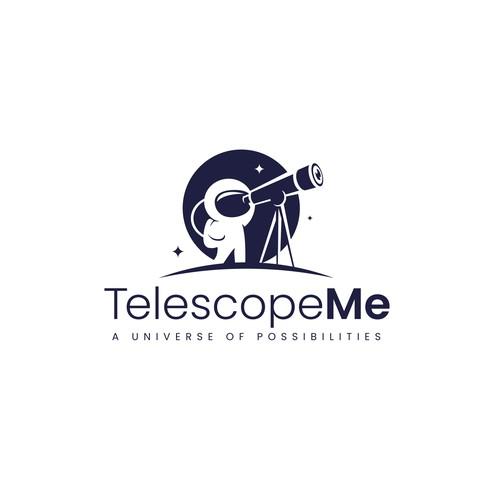 TelescopeMe Logo Design