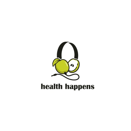 Logo Design for podcast Health Happens