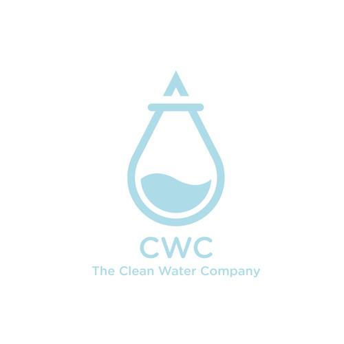 Logodesign for a company that sells chemicals to clean water.