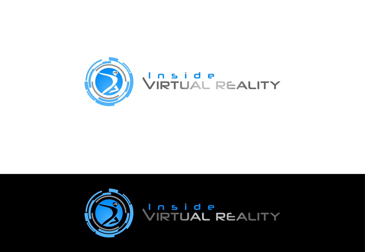 Simple Identifiable logo for - Inside Virtual Reality