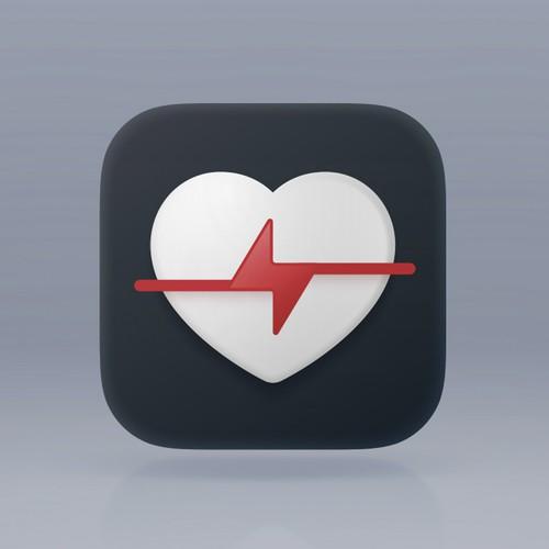 HeartHero App Icon Concept