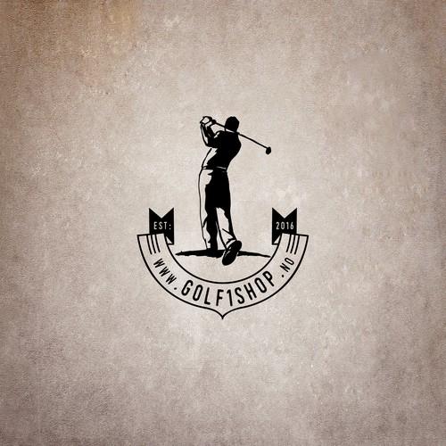 Golf vintage logo