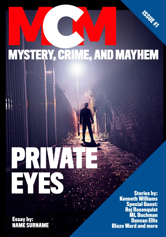 Design a mystery magazine!