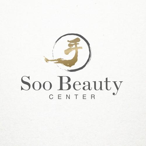 Elegant logo concept for beauty salon