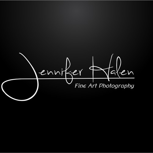 Fabulous new logo for fine art photographer