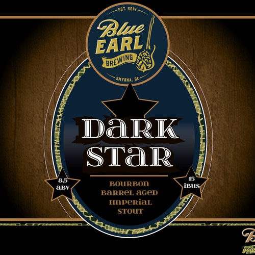 Dark Star - Beer Label 2