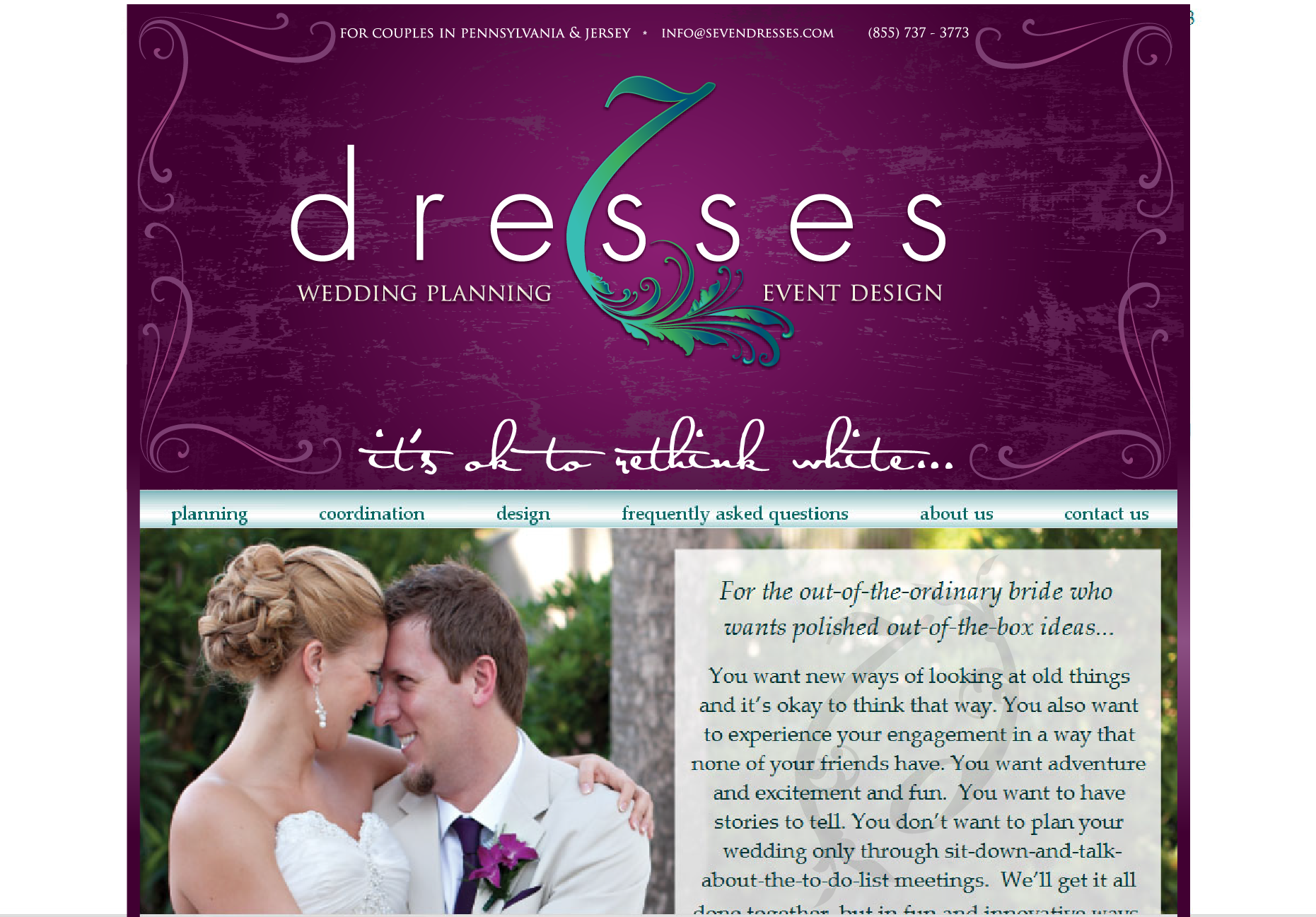 New logo wanted for Seven Dresses Wedding Planning & Design