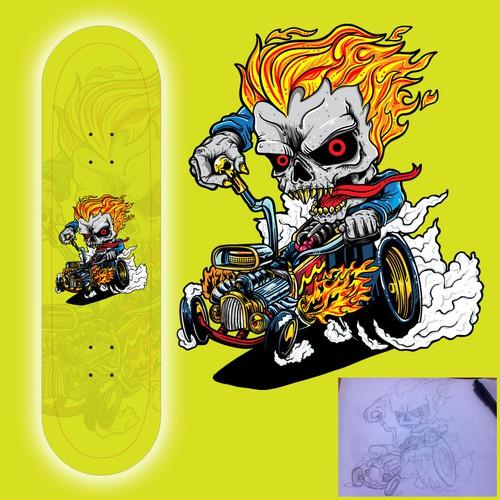 Monster Hot Rod
