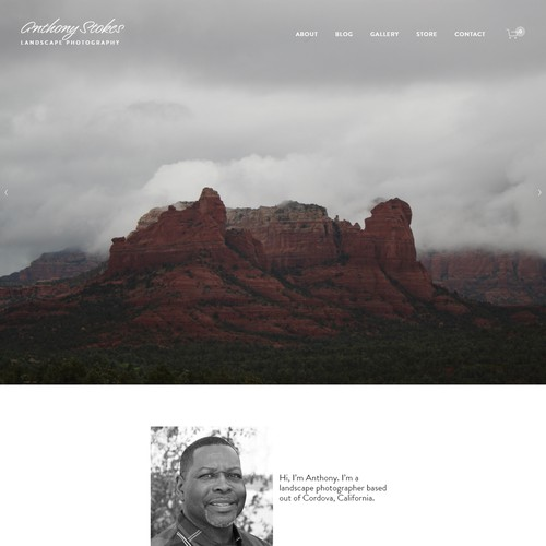 Landscape Photography Homepage