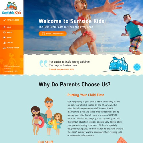 Surfside kid's web page