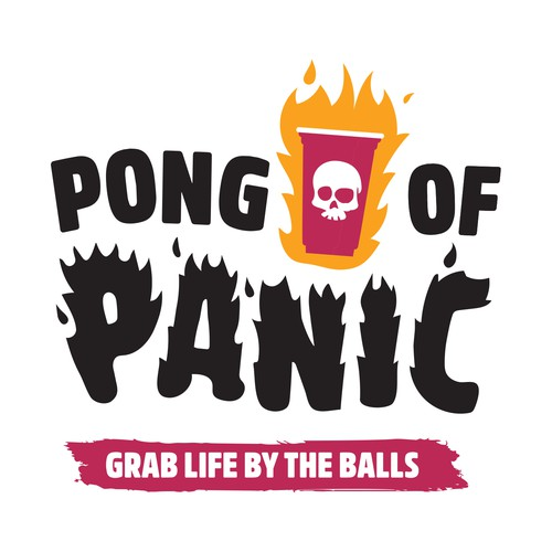 Logo for drinking board game