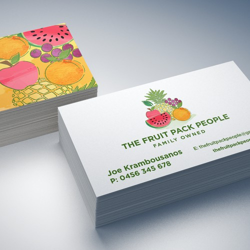 The Fruit Pack People Logo Design
