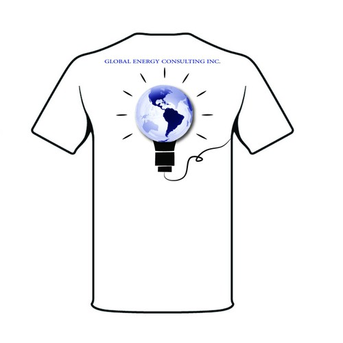 t-shirt design for oil and gas consulting firm