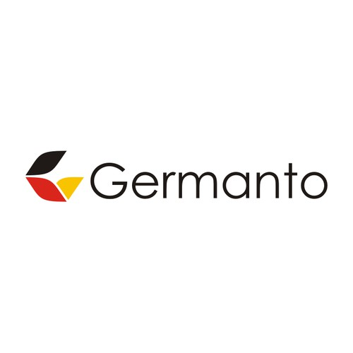 Very eye-catching logo for our International E commerce company 'Germanto'
