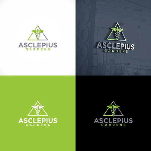 Logo and web-jimdo for Asclepius Cause