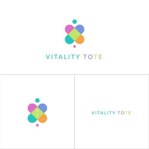 Feminine and Luxurious logo for VITALITY TOTE