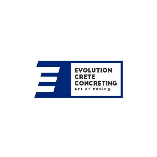 Evolution Crete Concreting Logo