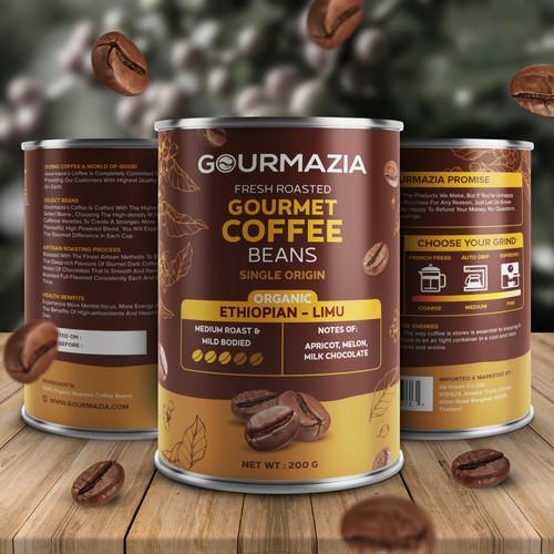 Coffee Beans Packaging Design