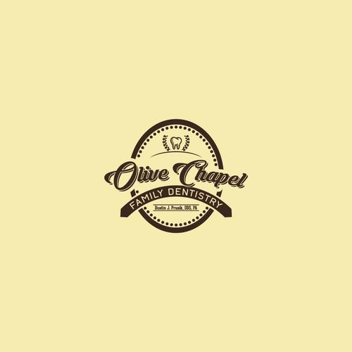 Olive Chapel Dentist Logo Concept