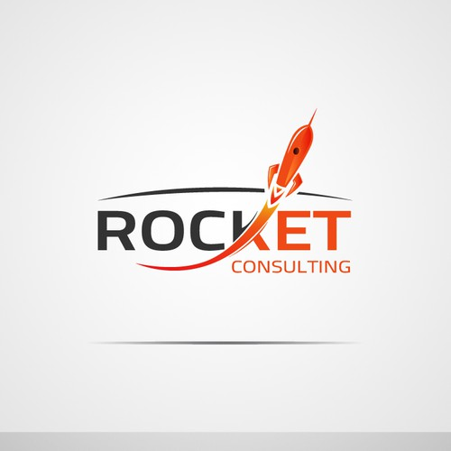 New logo for ROCKET Consulting (winner gets more work)!