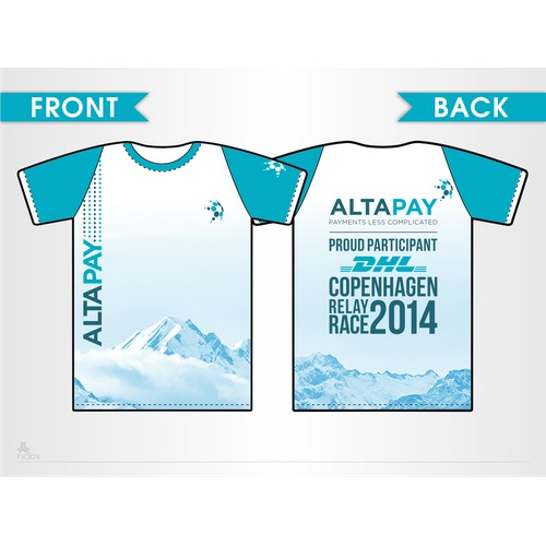 Company T-Shirt for Corporate Run (DHL)