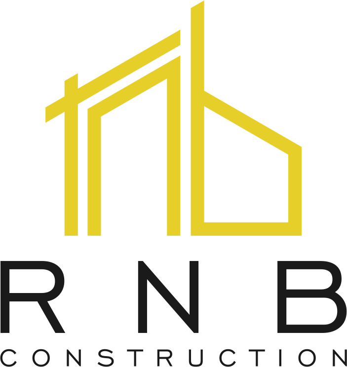 Modern crisp and professional logo for construction start up company.