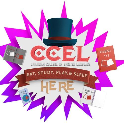 CCEL Sticker/Signage