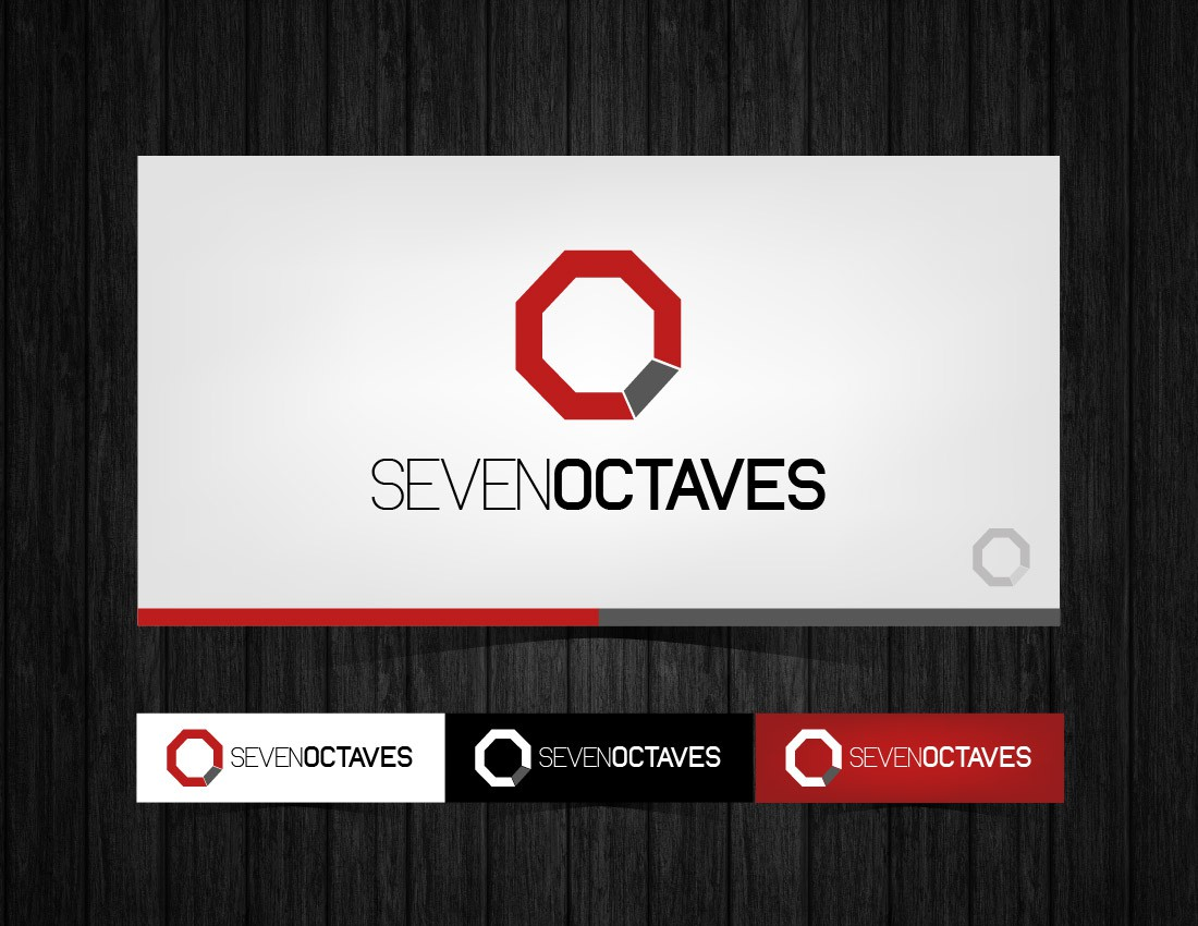 Create the next logo for Seven Octaves