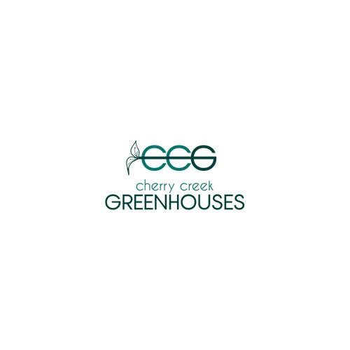 Logo concept fot greenhouses