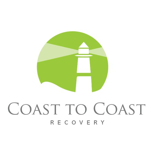 """Solutions for Addictions""  Coast to Coast Logo Design"