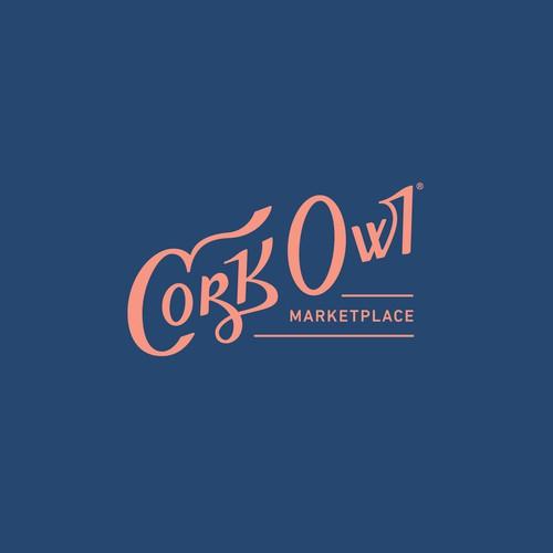 Hand-drawn logotype / wordmark design