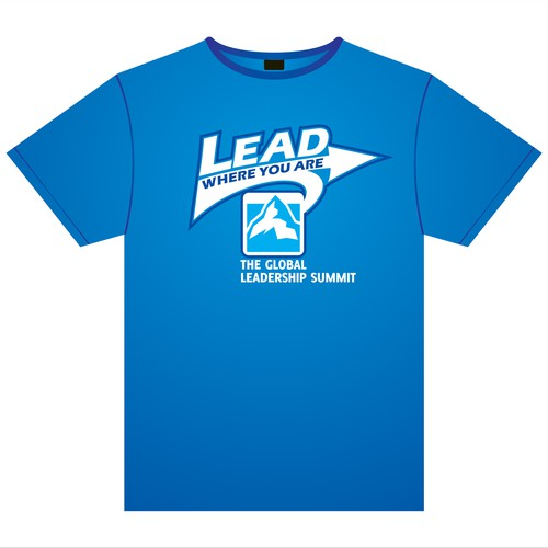 T-Shirt design for The Global Leadership Summit