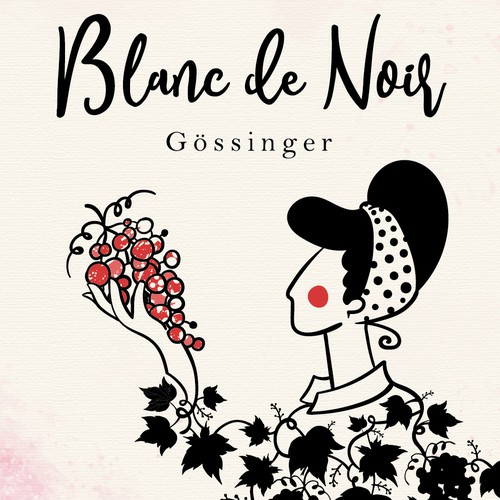 Wine label -Blanc de Noir