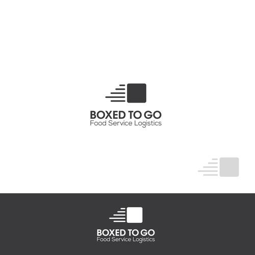 Bold,smart logo for food service logistic company.
