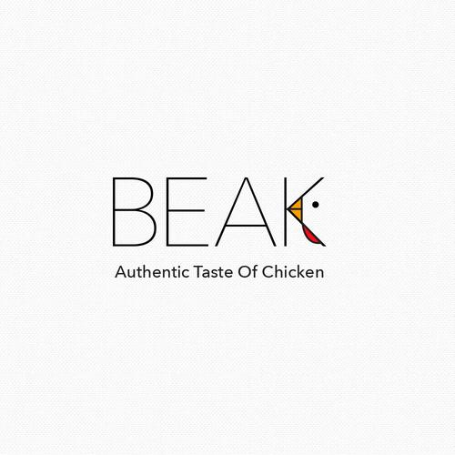 Logo concept for chicken restaurant
