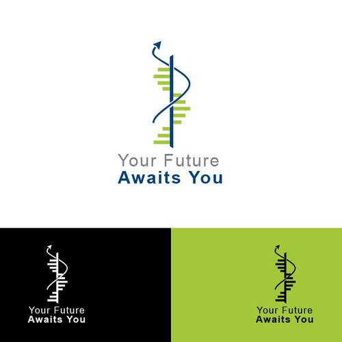 Develop a striking logo for biomedical students in search of a challenging future career