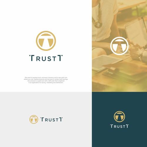 Logo concept for TrustT