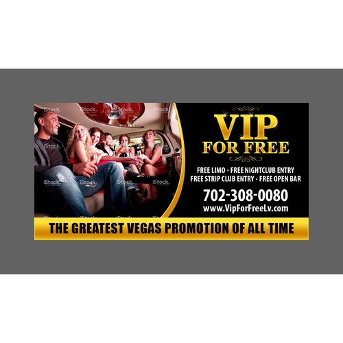 Mobile Billboard For The Vegas Strip