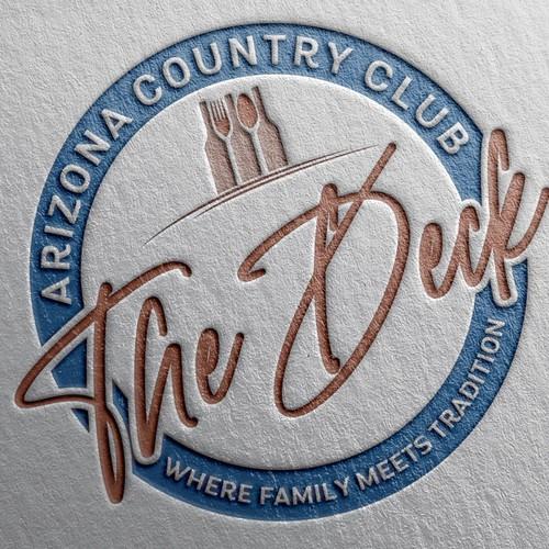 Emblem logo food & drink