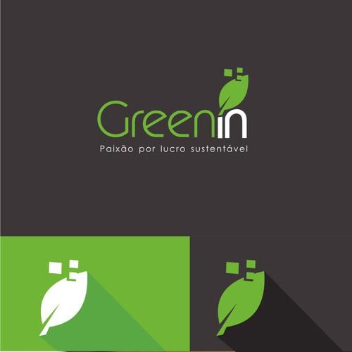 Crie um lindo logo para a GreenIn e ajude empresas sustentáveis crescerem!