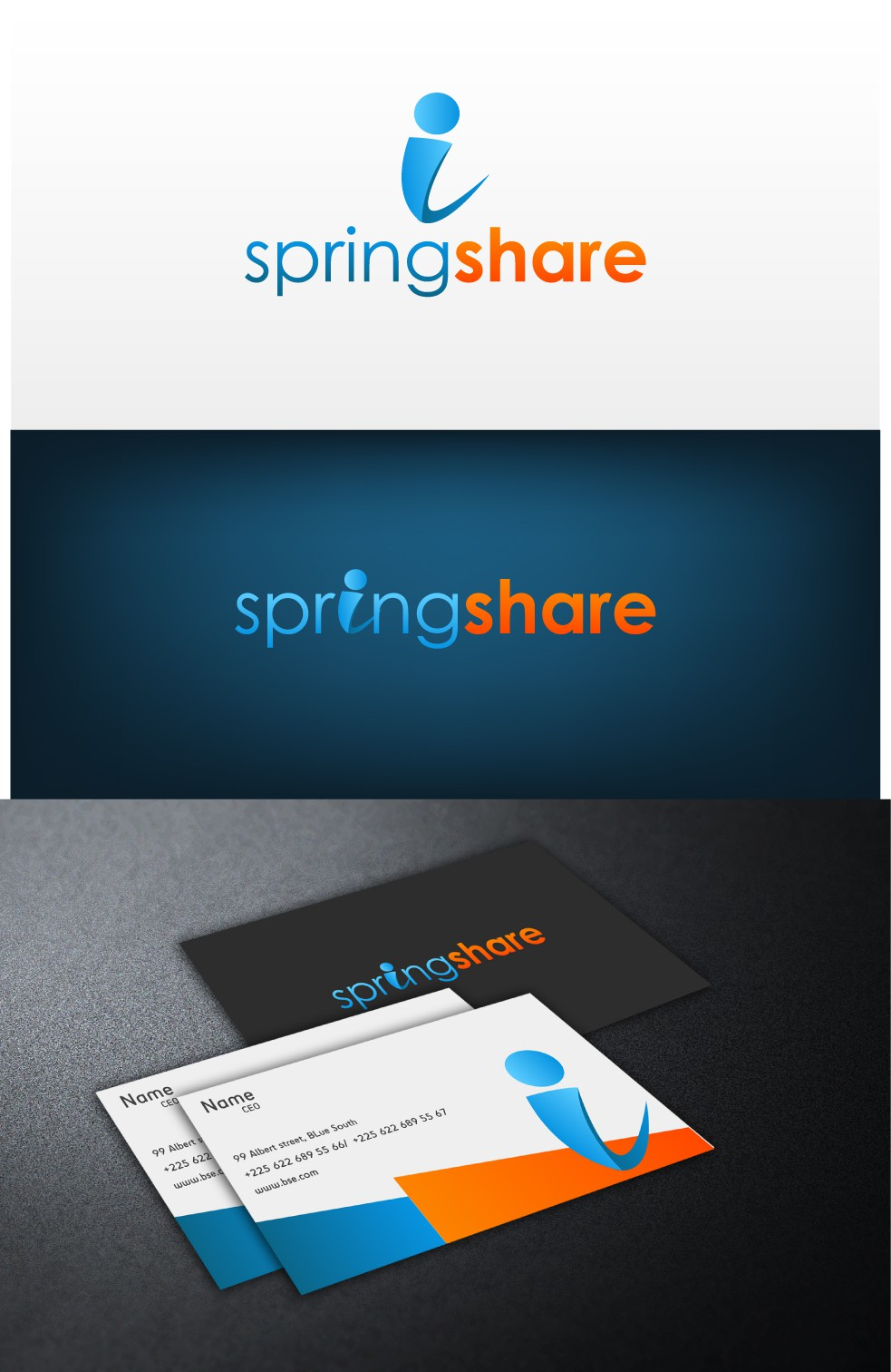 Springshare needs a new logo and business card!