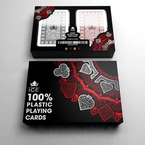 Design for 100% Plastic Playing Cards