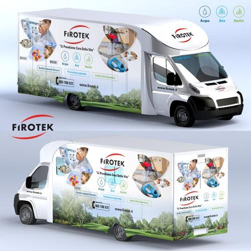Firotek Truck Wrap
