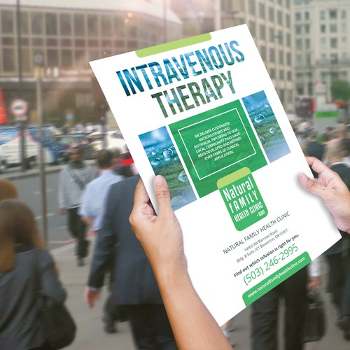 Intravenous Therapy Flyer