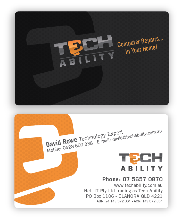 TechAbility needs a new stationery