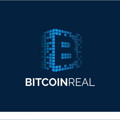 Logo for a website  provide price, news, tutorials and quick information for people interested in bitcoin and cryptocurrency universe.