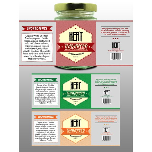 Habanero Bottle Label