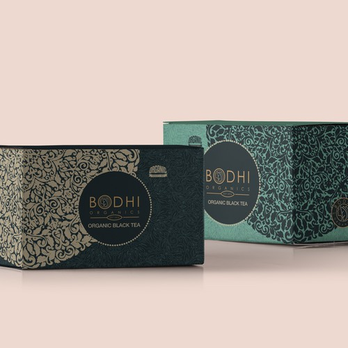 BOX PACKAGING AND INDIVIDUAL TEA BAG DESIGN FOR TEA LINE